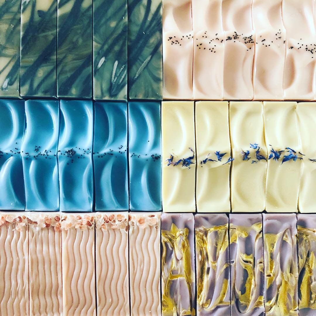 soap tops by soaperie + co