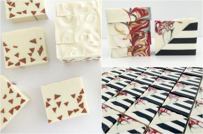 angled soap collage by soapish