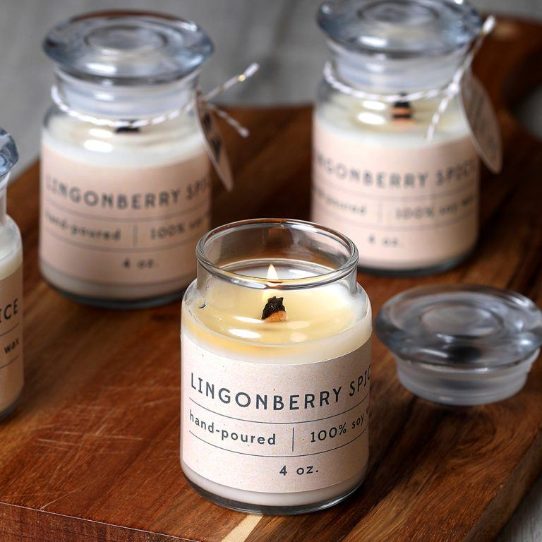 lingonberry spice candle kit | bramble berry