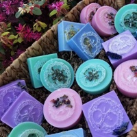 colorful pile of soaps