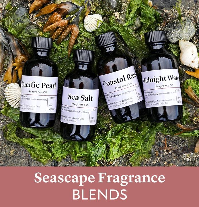 seascape fragrance blends | bramble berry