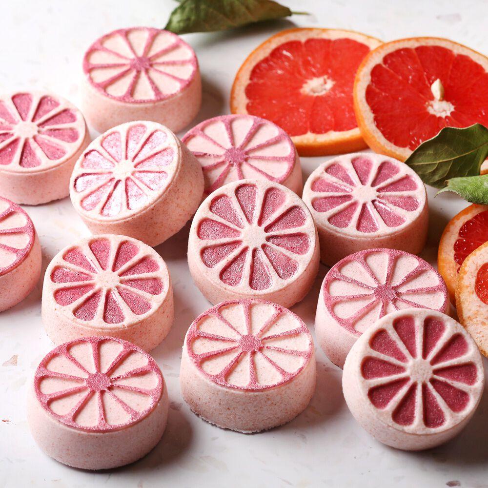 art0156 fresh citrus grapefruit bath bombs