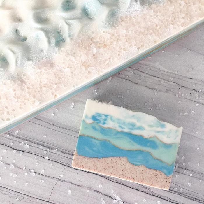 island escape soap by pottermade soap