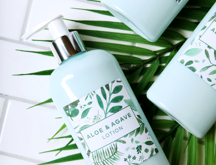 art0101 label products aloe agave lotion