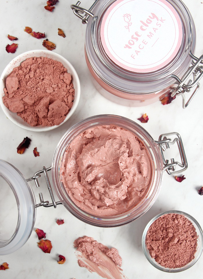 rose clay face mask | bramble berry