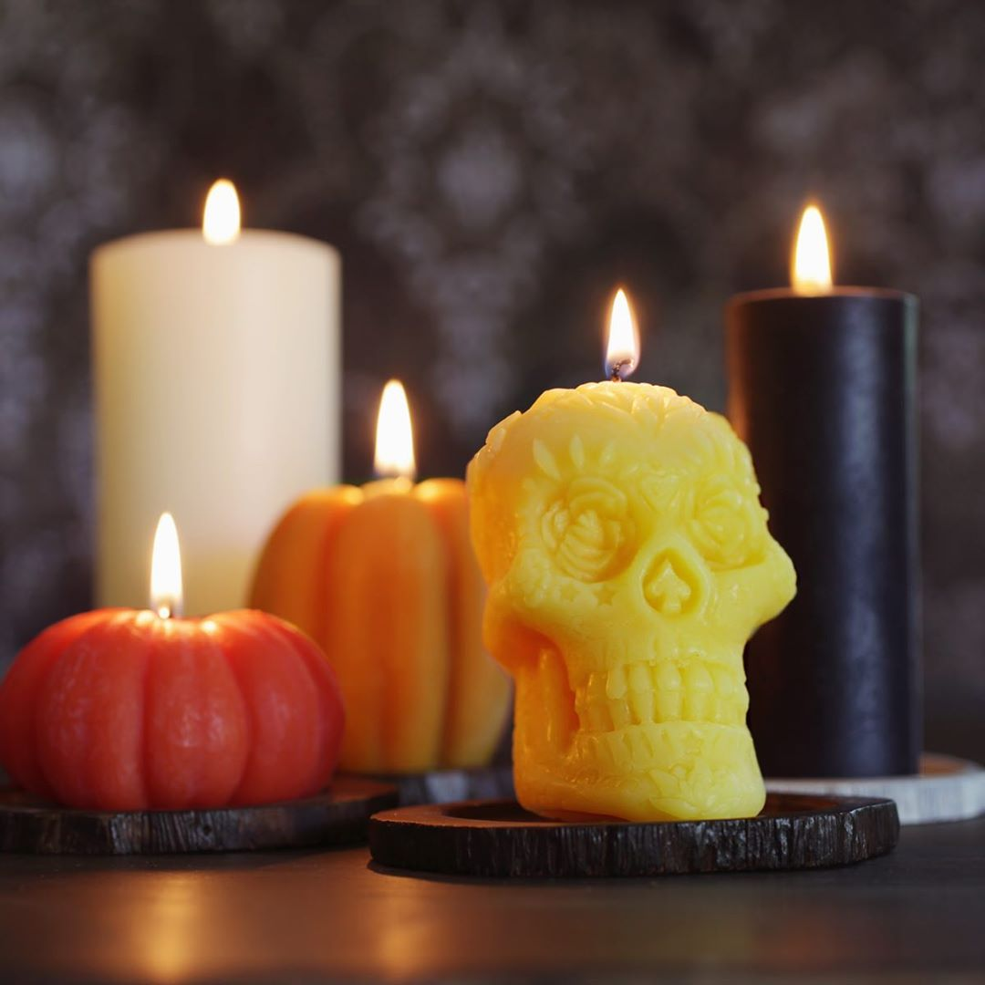 fall candles by big dipper wax works