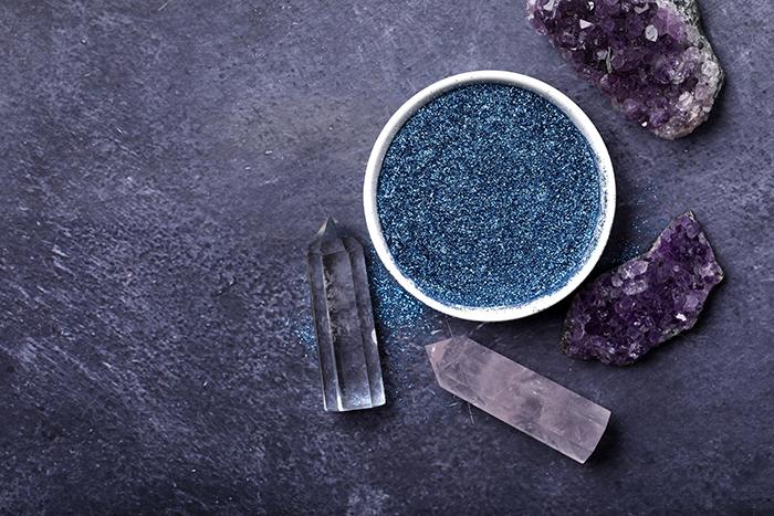 blue ecoglitter | Bramble Berry