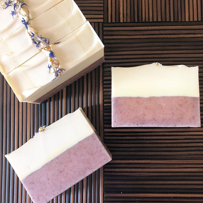 blueberry thyme soap by soaperie + co