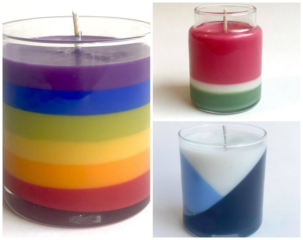 art0152 color candles layering