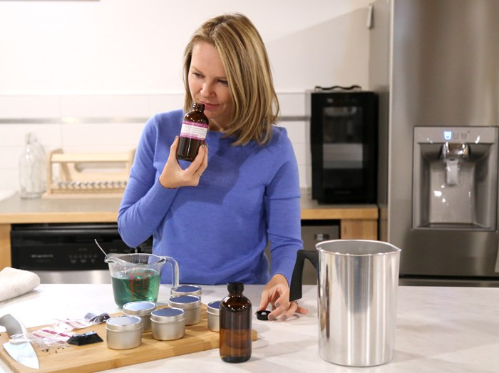 bramble berry ceo and founder anne-marie smells fragrance