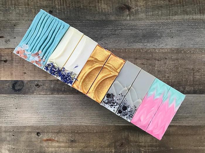 handmade soap by milked artisan soaps