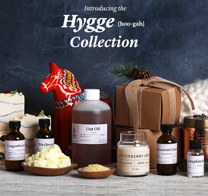 introducing the hygge collection | bramble berry