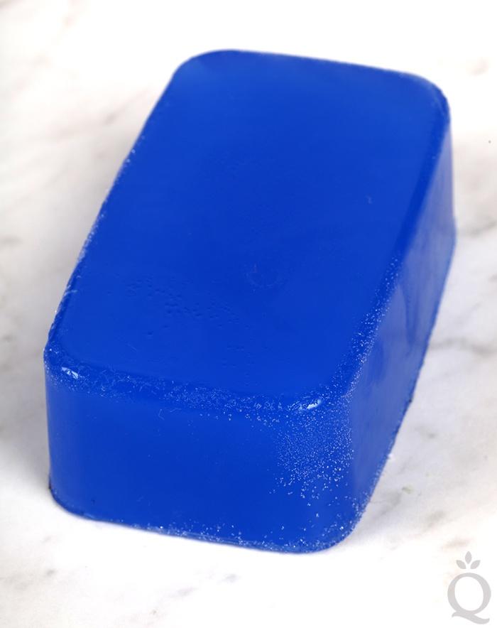 Glycerin dew on soap
