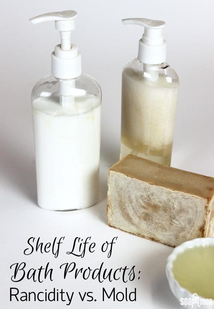 shelf life of bath products