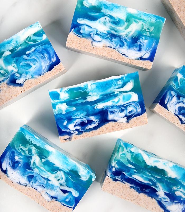 seascape melt and pour soap | bramble berry