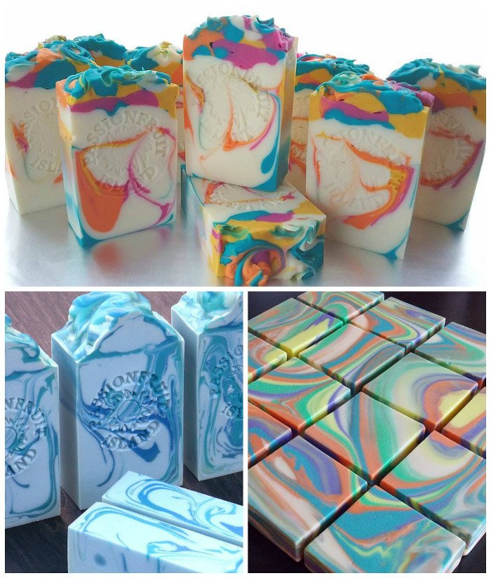 soap by passionfruit island