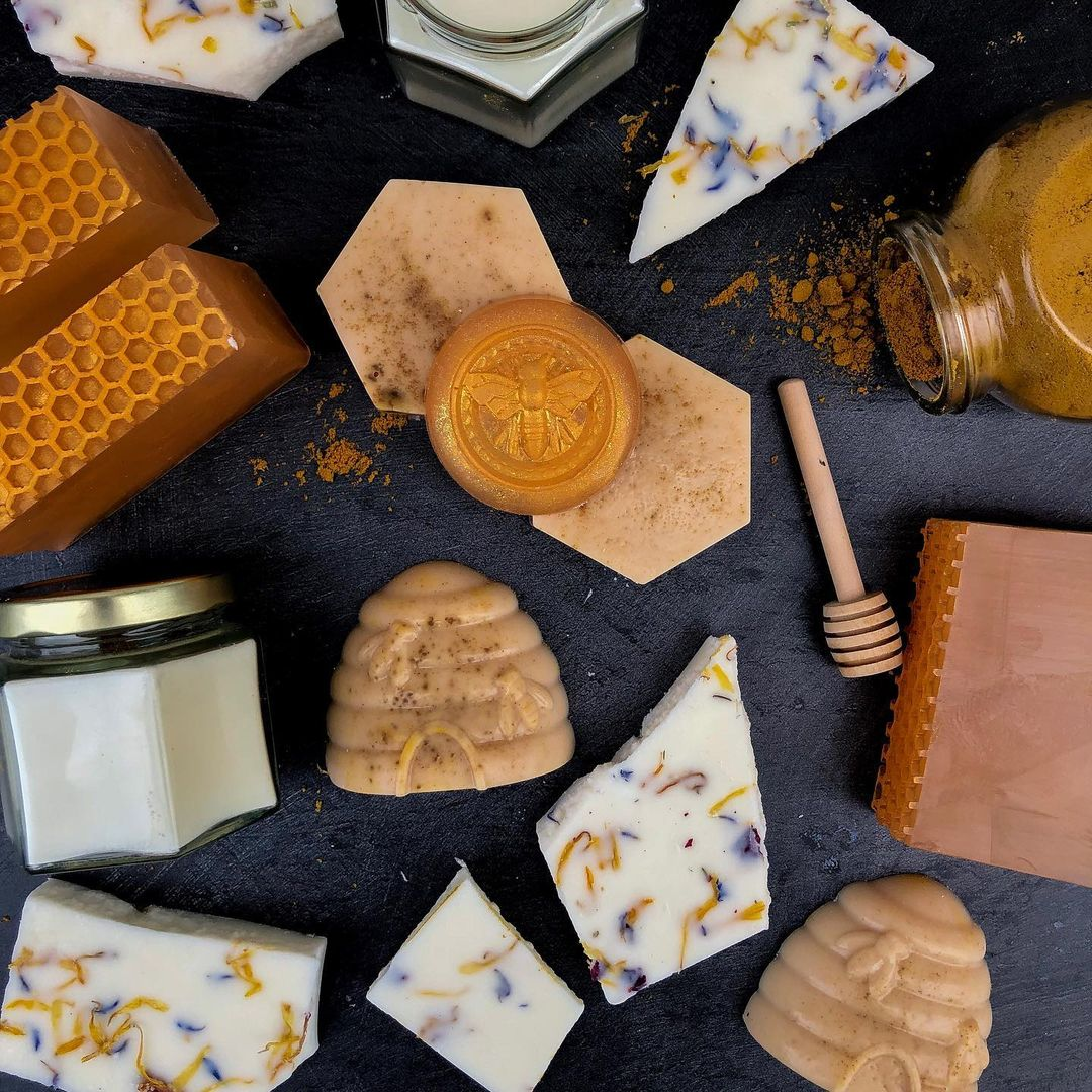 lush honey products by royalty soaps