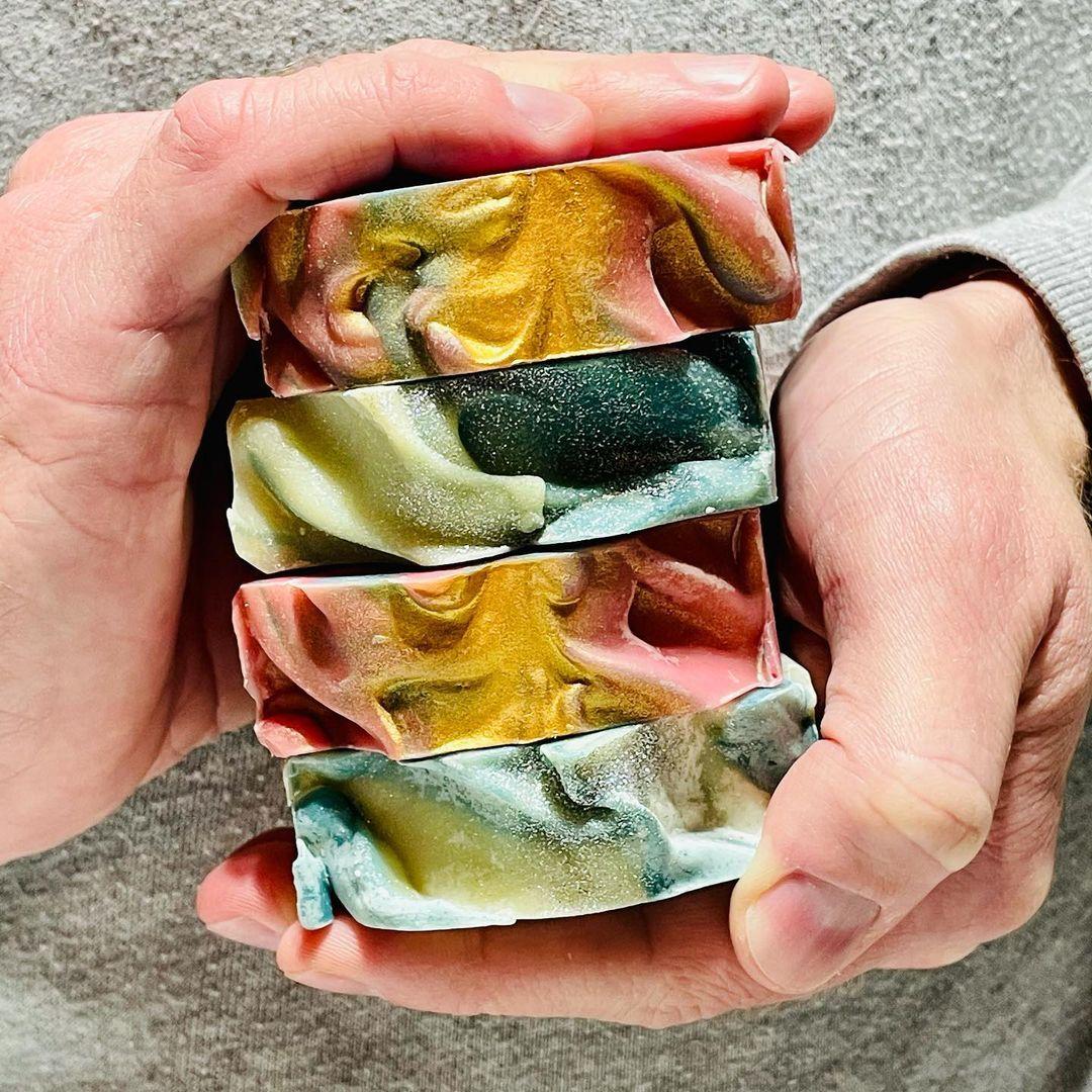 soap tops by bittersweet soap works