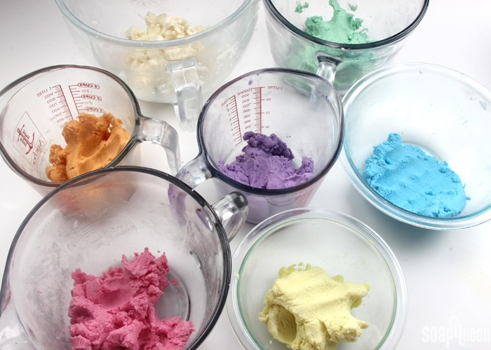 colored dough
