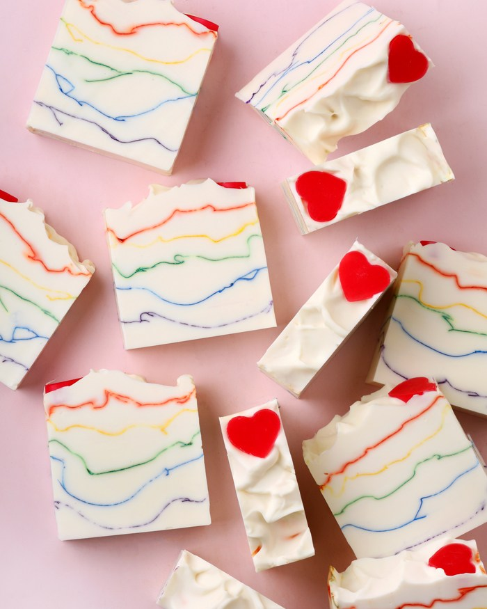 Heart the Rainbow Soap Project | Bramble Berry