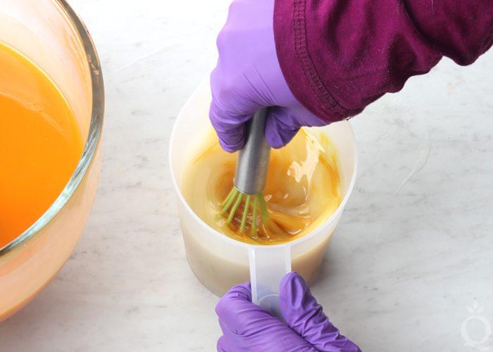 stir dispersed turmeric