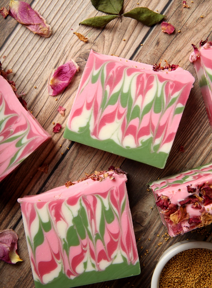 Pink Petals Soap Project | Bramble Berry