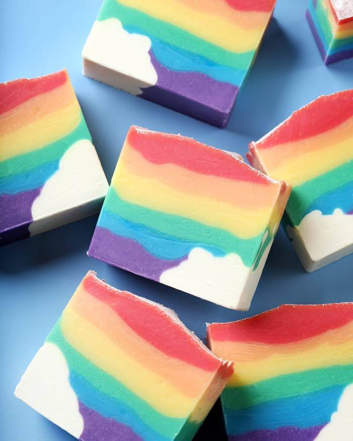 Classic Rainbow Soap Project | Bramble Berry